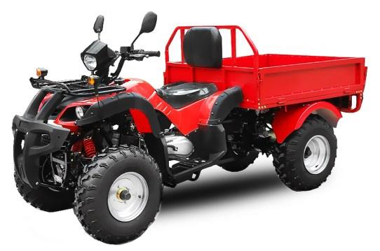 Quad 150 ccm ATV Dumper Kipper mit kippbarer Ladefläche
