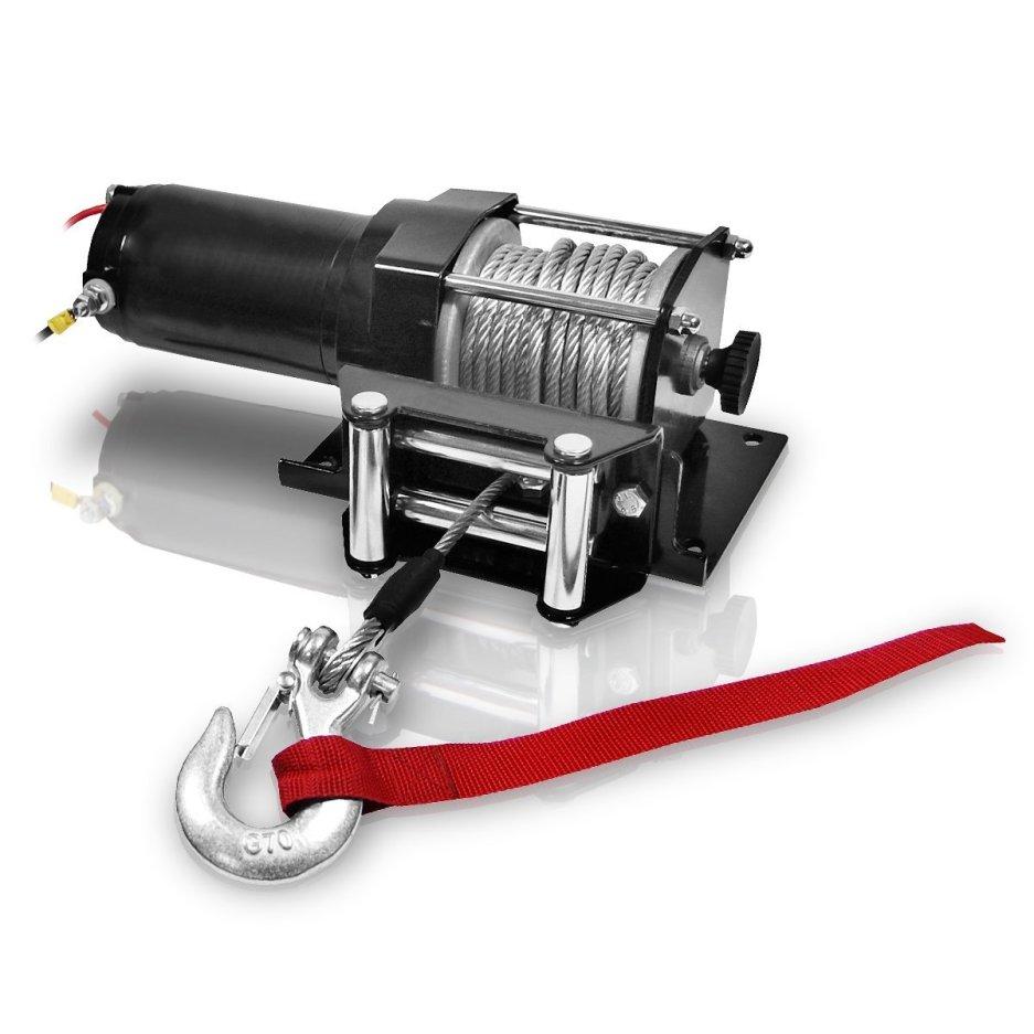 Berlan Elektro Seilwinde 12 Volt 1.360 kg