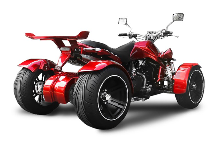 Quad Spy Spyder F1 350 ccm rot