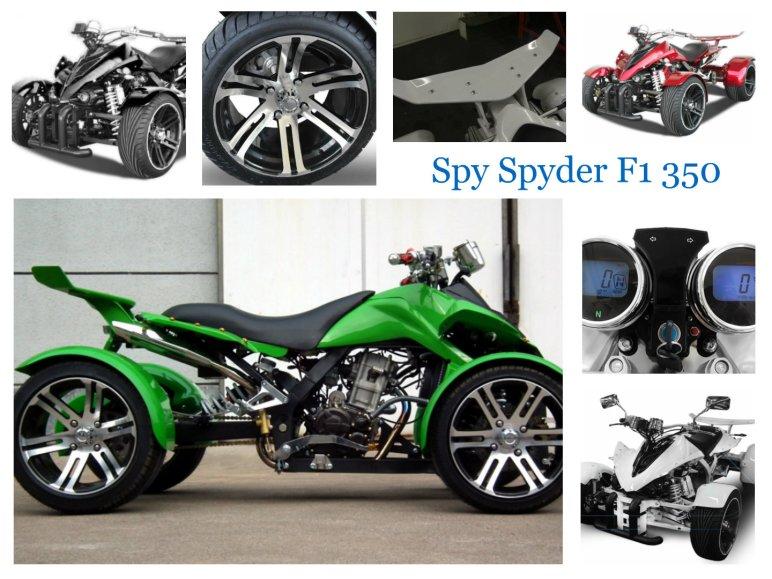 Spy Spyder F1 350 ccm