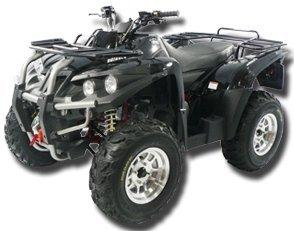 Triton Outback 4x4 400 black schwarz Seilwinde