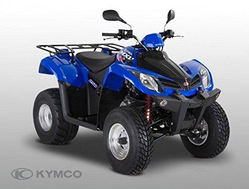 Kymco MXU 250 Onroad blau