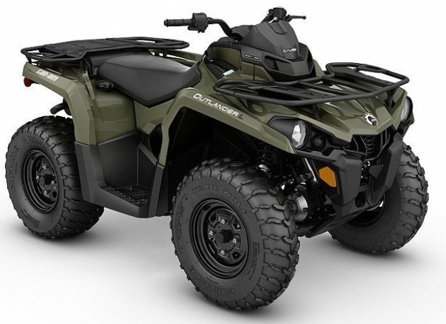 BRP Can-Am Outlander 570 DPS EC-Version 2017