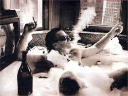 Bono - in the Hot Tub!