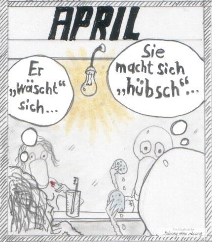 Heini und Heidi April 2017 Meinung ohne Ahnung