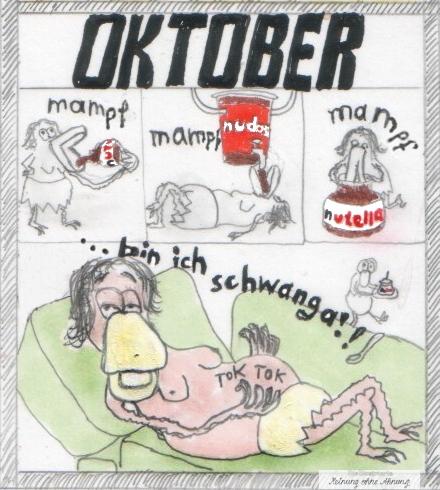 Heini und Heidi schwanger im Oktober 2017 Meinung ohne Ahnung