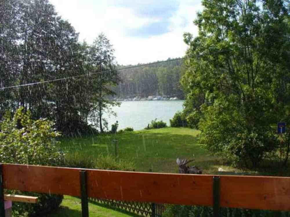 Ferienwohnung Joachimsthal mit Badestelle am Werbellinsee und Kamin