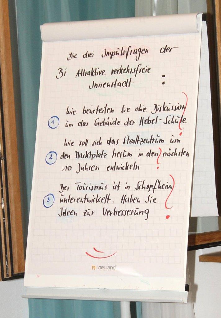 Kritische Fragen der Bürger an die BM-Kandidaten in der Alten Scheune