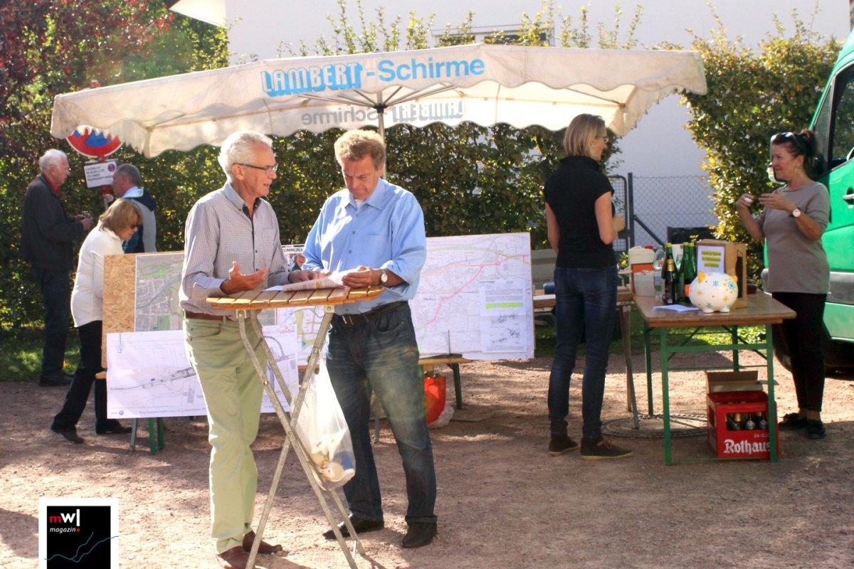 BVM legt bei der Verwaltung Maulburg 425 Unterschriften vor - meinWiesental.de / News