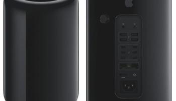 Novo Mac Pro — parece um cinzeiro de repartição mas é um avião