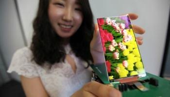 LG exibe display de LCD Full HD para smartphones com apenas 2,2 mm de espessura