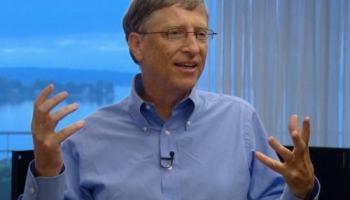 Bill Gates usa carta do