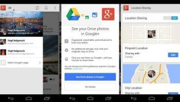 Google+ para Android ganha integração com o Drive, melhorias no compartilhamento de localização e outras novidades