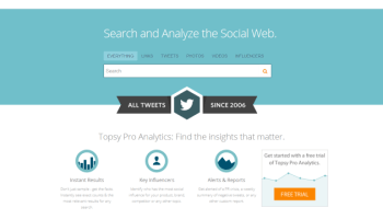 Topsy, um Google Search para Twitter