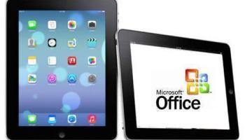 iPad vai receber versão do Office otimizada para telas touch... depois do Windows RT, claro