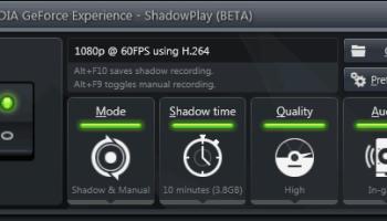 GeForce Experience ganhará captura de vídeo
