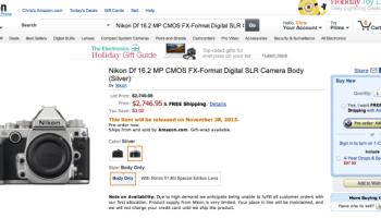 Nikon DF aparece