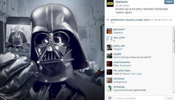 Star Wars chega ao Instagram