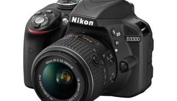 Nikon D3300 — tudo novo