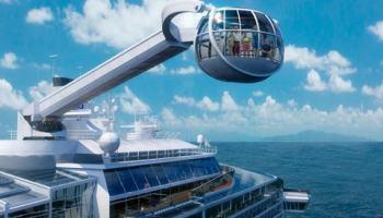 Royal Caribbean cria cruzeiro virtual dentro do navio de cruzeiro