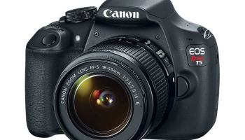 Canon EOS Rebel T5 - para quem quer gastar pouco