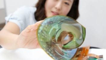 LG apresenta displays OLED flexíveis e transparentes
