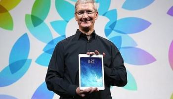 Tim Cook: mercado corporativo pode alavancar vendas do iPad