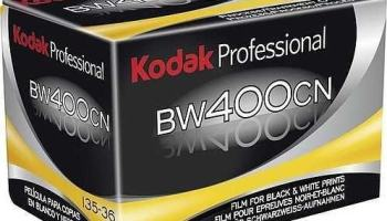 Descanse em paz Kodak BW400CN