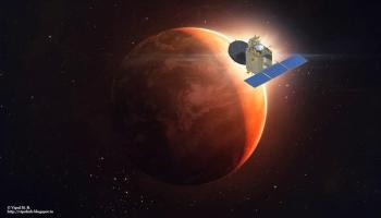 SUCESSO: sonda indiana em órbita de Marte