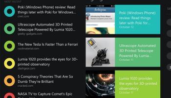 Poki — cliente Pocket para Windows Phone