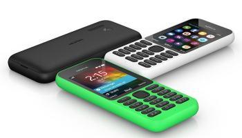 Microsoft anuncia Nokia 215. Nokia, não Lumia.