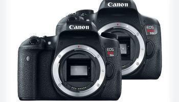 Canon EOS Rebel T6s e T6i — escolha a sua preferida