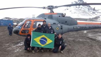 Base do Brasil na Antártica ganha novas antenas de telecom, cortesia Alcatel-Lucent e Oi
