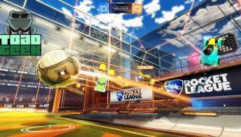 Gameplay de Rocket League — Carros e Futebol!
