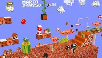 Mario Bros. em 2D ou em 3D, qual você prefere?