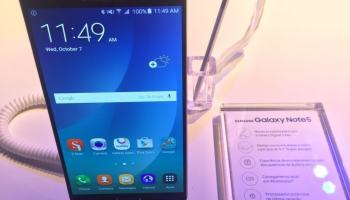 Samsung lança Galaxy Note 5 e Gear S2 no Brasil