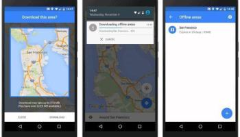 Google Maps, agora com navegação e buscas offline. Obrigado, Google!