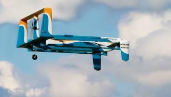Amazon insiste no futuro das entregas com drones
