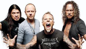 Metallica — ainda vendendo como água