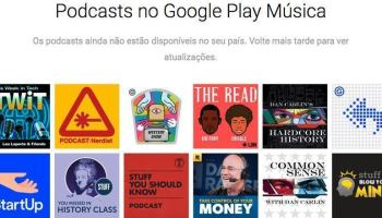 Podcasts podem chegar ao Google Play Music na próxima semana