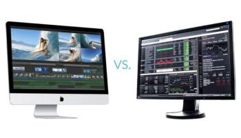Mac × PC — desempenho no Lightroom