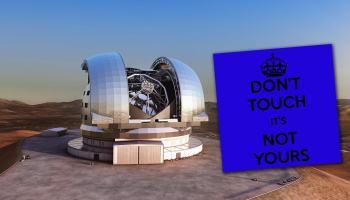 Participação brasileira garantida no supertelescópio E-ELT não está mais garantida