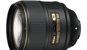 Nikkor 105 mm ƒ/1,4 E — a mais rápida do mundo