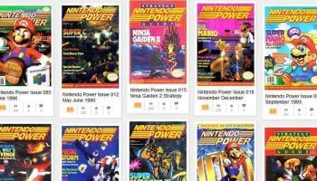 Nintendo disponibiliza 13 anos da revista Nintendo Power