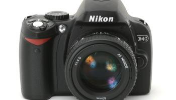 Nikon D40 — 10 anos depois