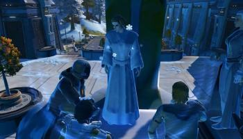 Jogadores de SW: The Old Republic homenageiam Carrie Fisher