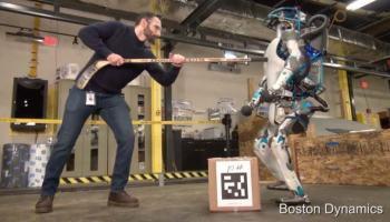 8 minutos de puro terror robótico, cortesia Boston Dynamics