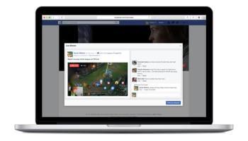 Agora todo mundo pode utilizar o Facebook Live pelo desktop