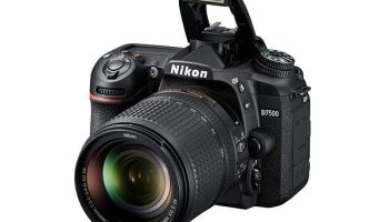 Nikon D7500 — um belo upgrade