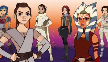 Star Wars Forces of Destiny: nova série animada focará nas heroínas da franquia